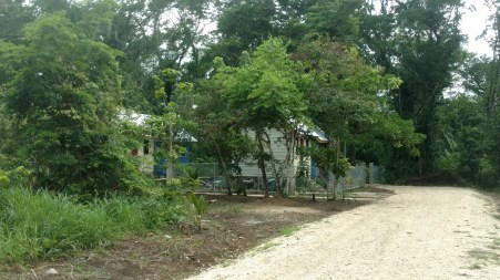 The tiny homes hotel where I stayed near the capital city of Belmopan.