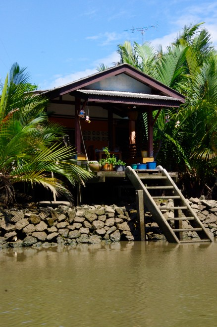 Wooden River House