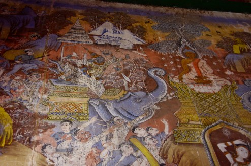 200 years old temple paintings