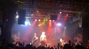 Reckless Love on stage