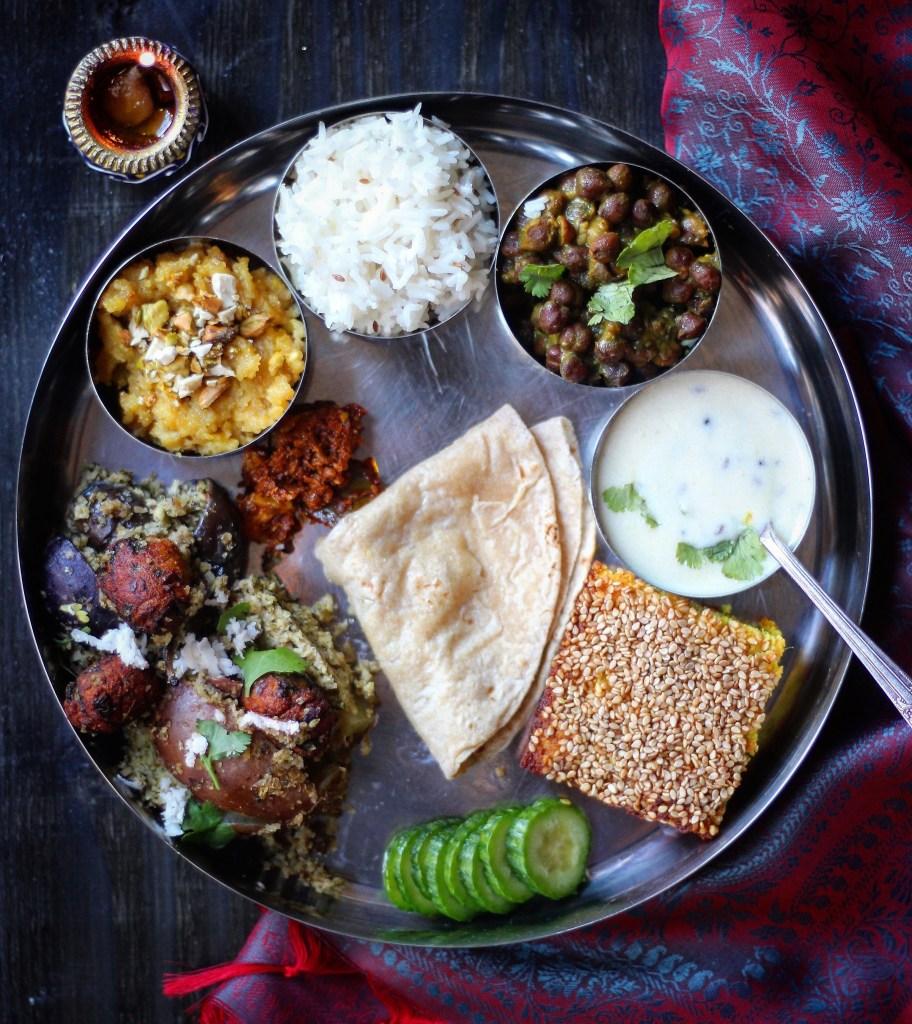 Gujarati thali and a dedication forumfinder Choice Image