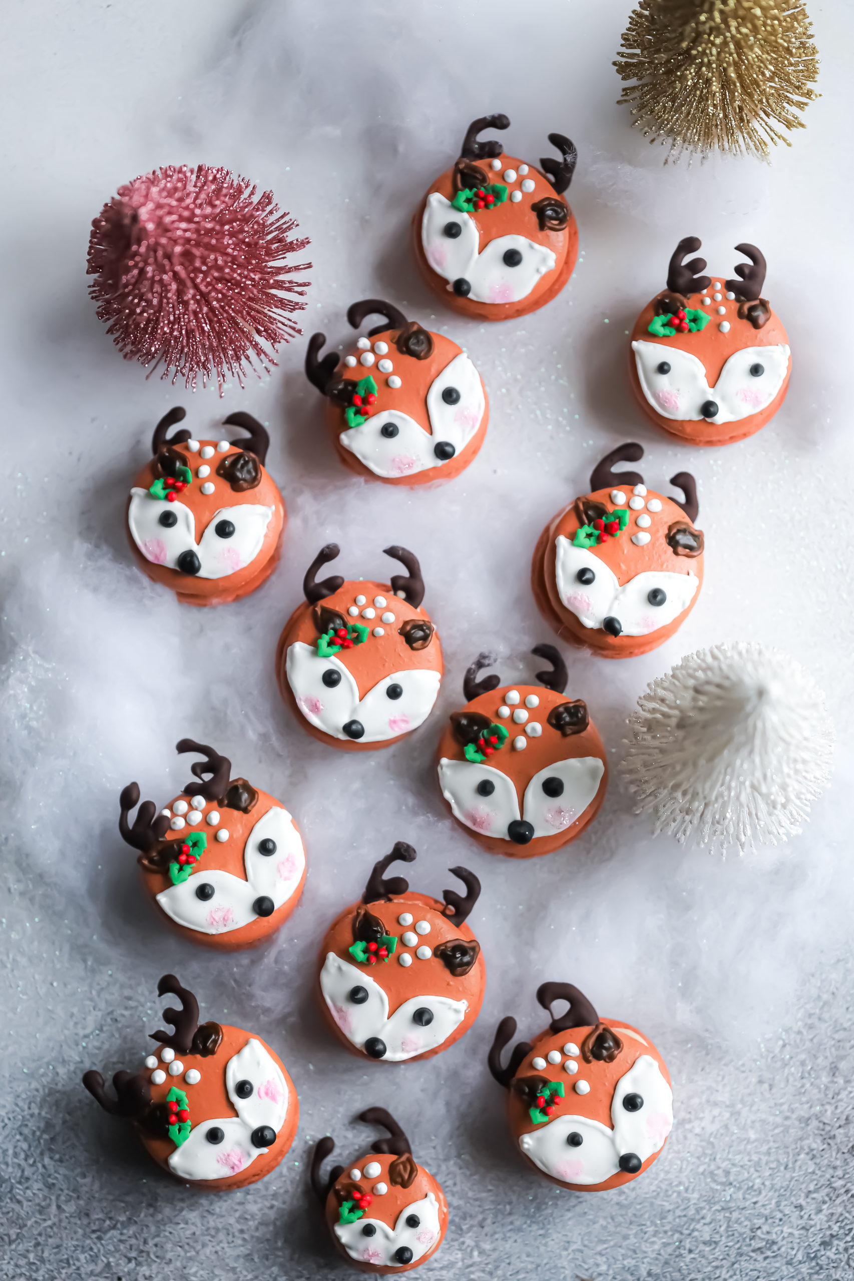 Sweet Treat #4 : Woodland Deer Macarons with Spiced Amaretto Salted Caramel