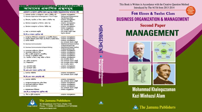 Business Organization & Management(2nd Paper)