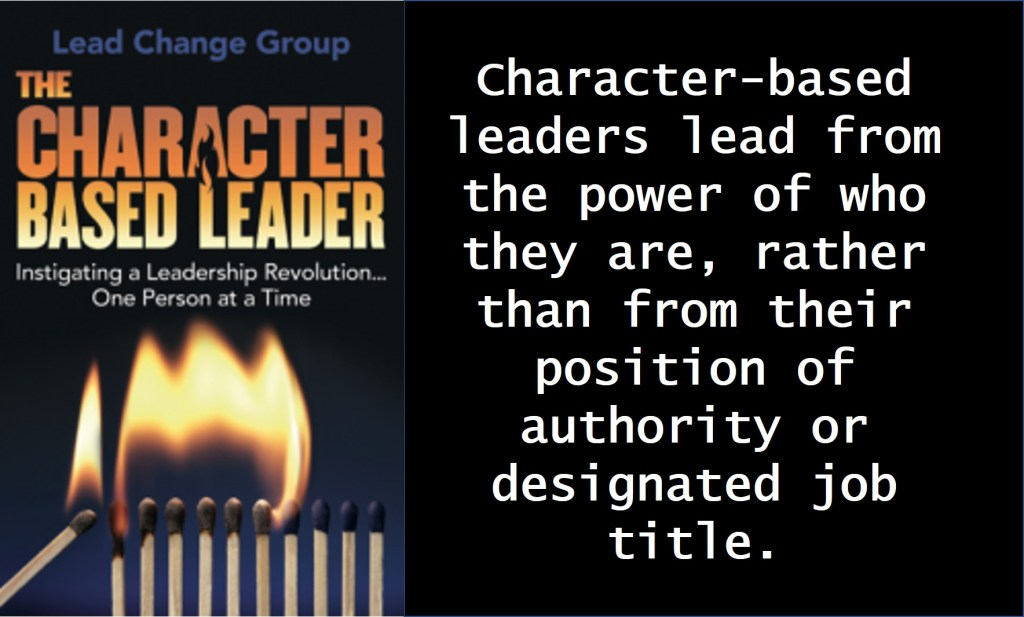 character based leaders