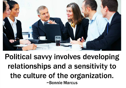 How savvy are you about office politics?
