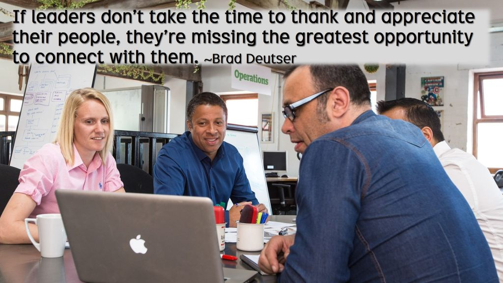 Gratitude: the simple way to motivate employees