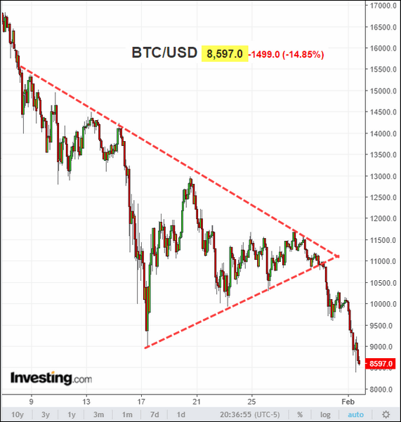 WSJ_Daily Shot_Investing.com - Bitcoin_2-1-18