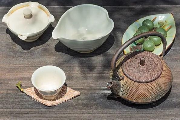 Japanese Tea Set Uji