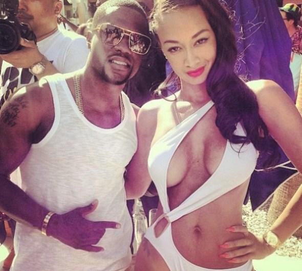 kevin hart-draya michele-basketball wives la-memorial day weekend 2013-the jasmine brand