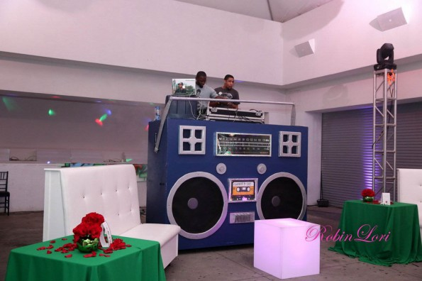 dj table-Towanda Braxton 40th birthday party-the jasmine brand