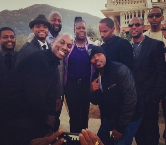 larenz tate-tyrese-jamie foxx-hosts trayvon martin-hollywood charity event-the jasmine brand