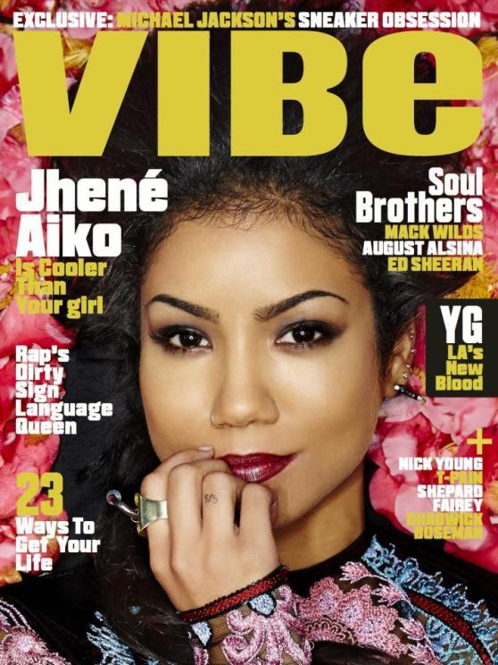 jhene aiko covers vibe magazine the jasmine brand