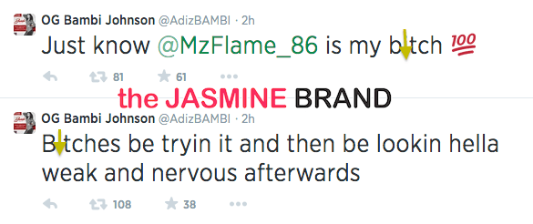 love and hip hop atlanta reunion fight bambi the jasmine brand