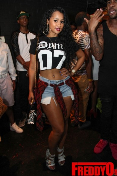 tammy rivera LHHA Rasheeda Pop Up Shop Event 2014 the jasmine brand