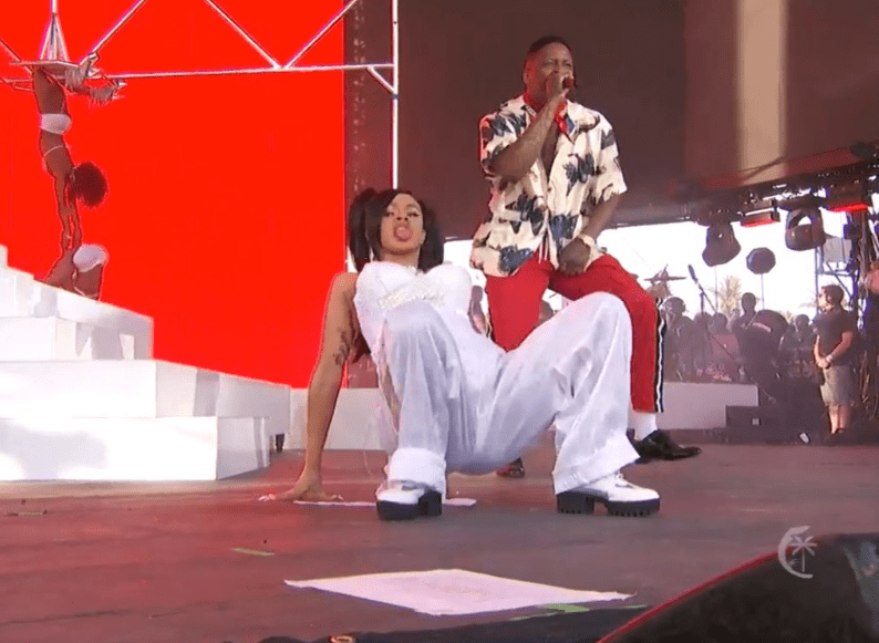 Image result for cardi b and YG coachella