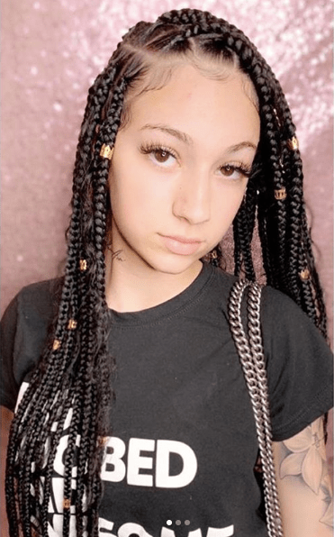 Glue Braids : braids, Bhabie, Black, Women, Braids, Culture, Appropriation:, Y'all, Ain't, Meant, Straight,, Whole, Heads, TheJasmineBRAND