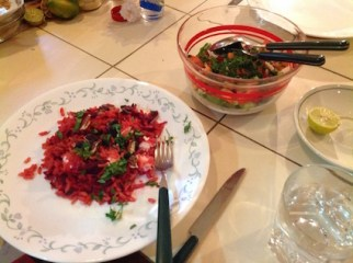 Beetroot risotto 4.16