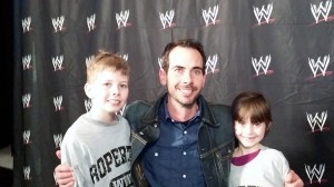 Family at WWE RAW
