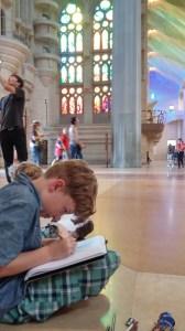 Barcelona: Inside Sagrada Família