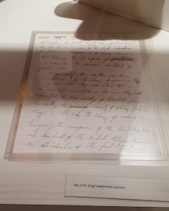 cr2-king-handwriting