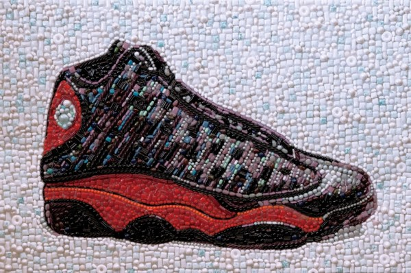 9d5b9f48908a13 ... I made this out of candy for the launch of the new Nike Air Jordan 13  ...