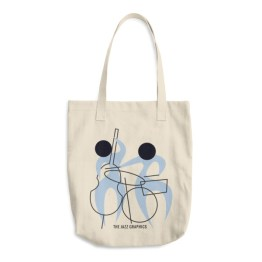 Cotton Tote Bag (bass and drums)