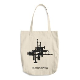 Cotton Tote Bag (trumpet)