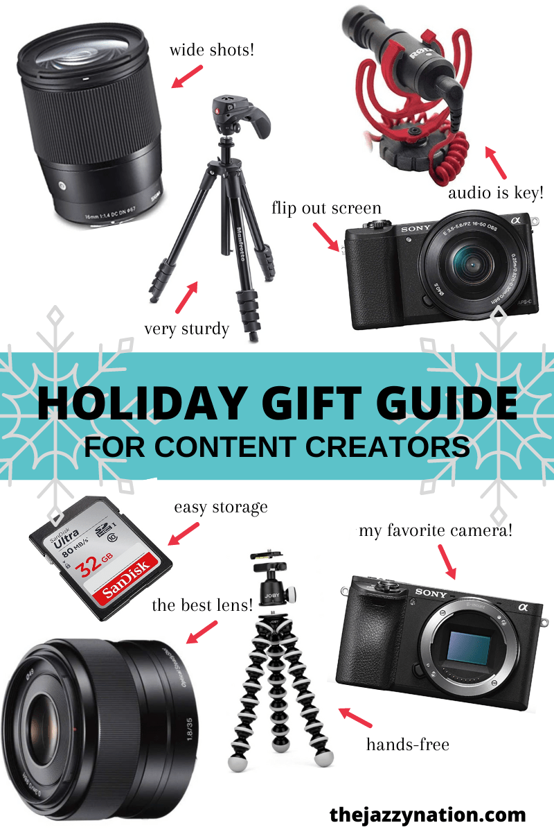 Ultimate Tech Gift Guide For Bloggers & Content Creators 2020