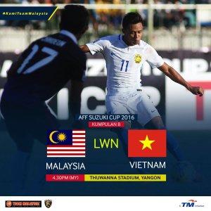 Live streaming malaysia vs vietnam piala aff suzuki 23/11/2016
