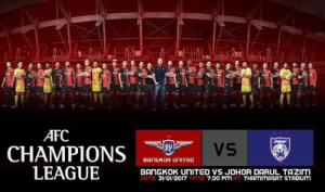 Live streaming JDT vs Bangkok United 2017 (ACL)