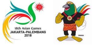 asian games, logo asian games 2018,