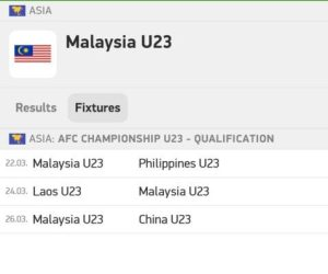 Live streaming Malaysia u22 vs Australia u22 17.3.2019