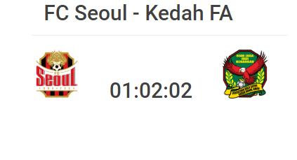 seoul fc vs kedah,  logo kedah , logo seoul,