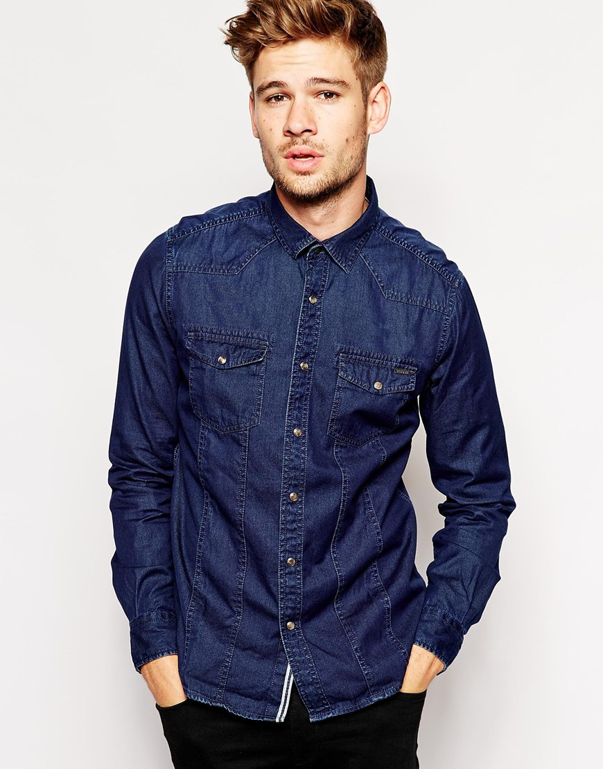 esprit-denim-shirt
