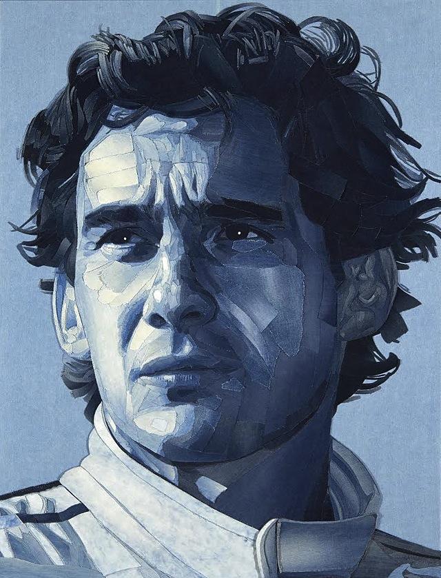 ian-berry-denimu-Ayrton-Senna-portrait