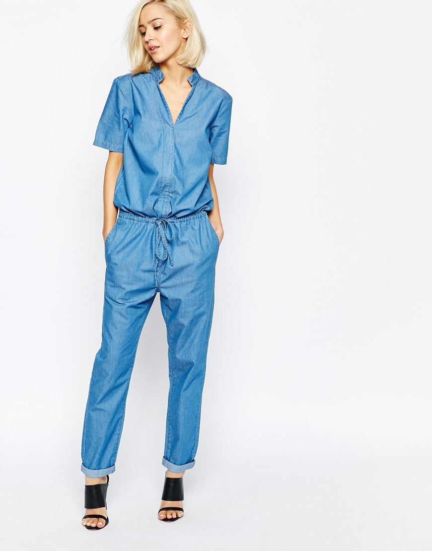 selected-katrine-denim-jumpsuit