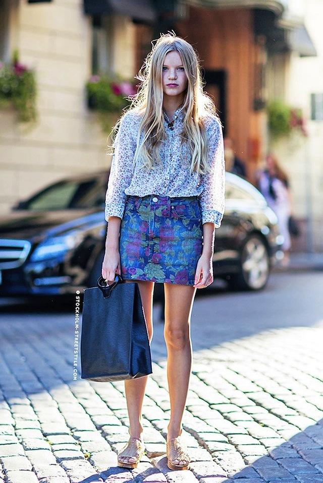 denim street style    globe  jeans blog