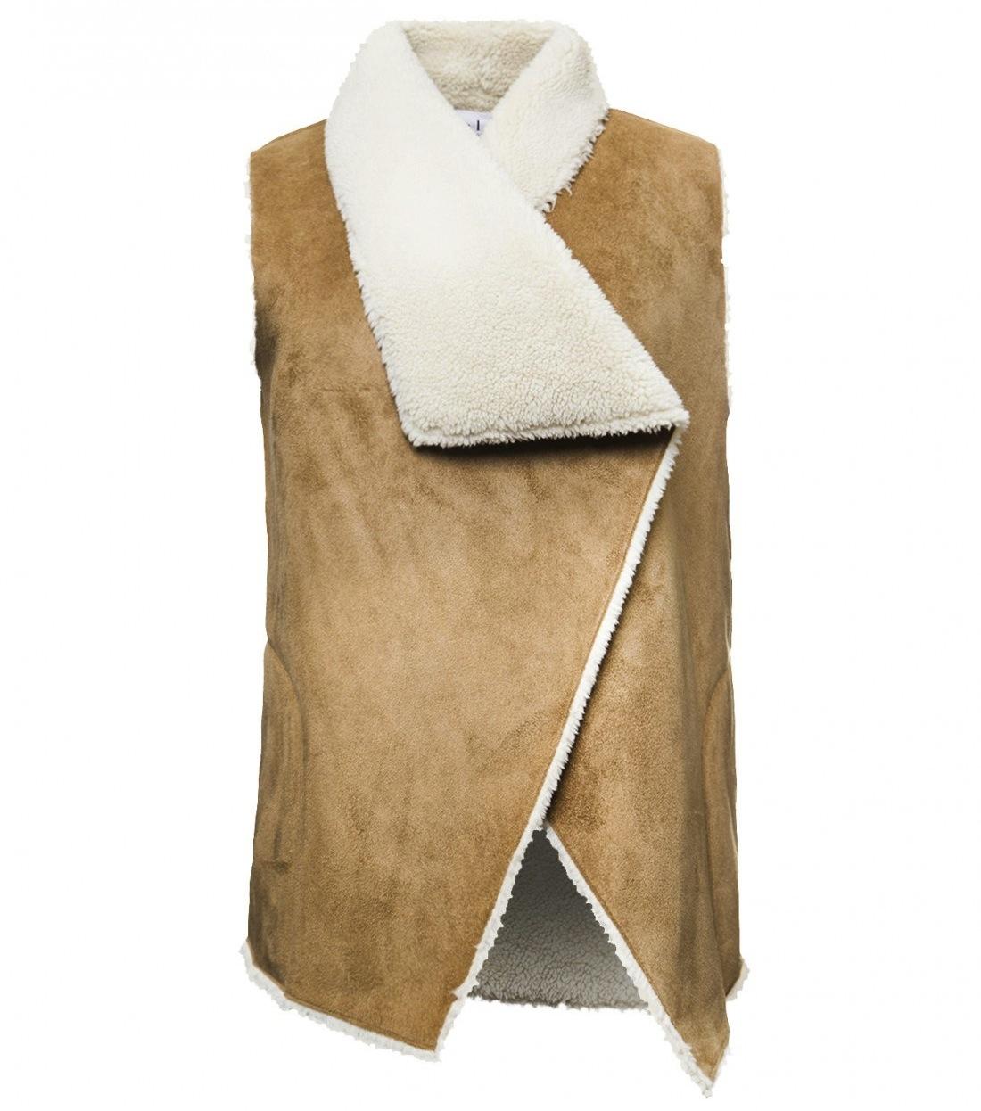 velvet-sleeveless-drape-vest