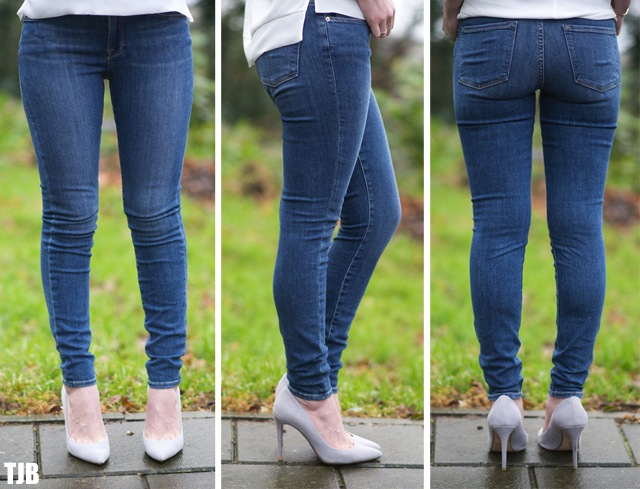 FRAME Denim Le Skinny de Jeanne in Huntley Review 7