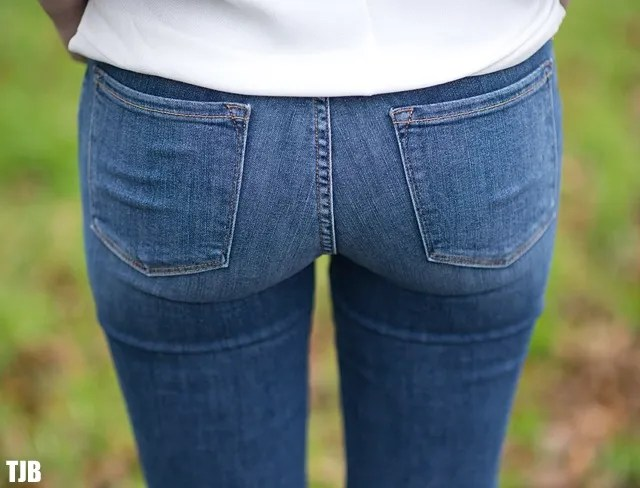 FRAME Denim Le Skinny de Jeanne in Huntley Review 9
