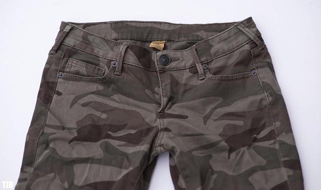 True Religion Casey Skinny Jeans in Camo Review 3