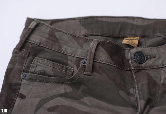 True Religion Casey Skinny Jeans in Camo Review 8