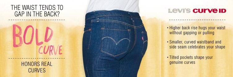 levis bold curve