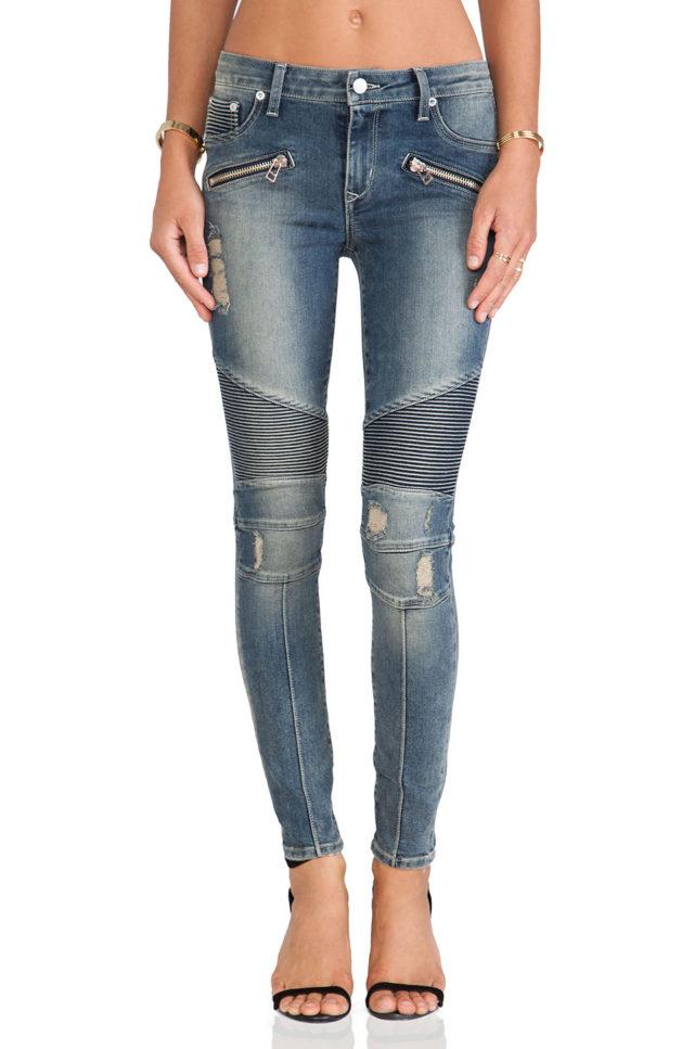 lovers + friends moto jeans