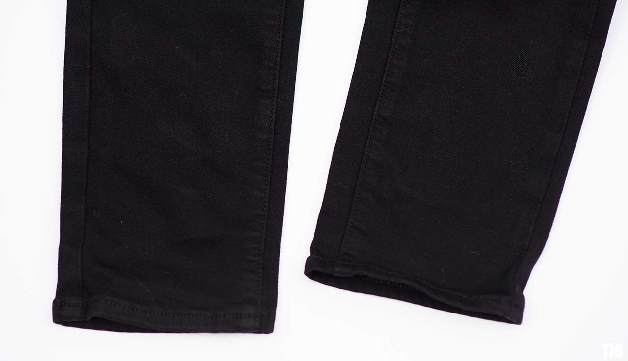 PAIGE High Rise Edgemont Jeans in Black Shadow Review 4