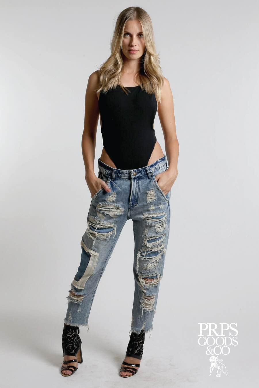 PRPS Womens Ladies Jeans Denim 2016 18