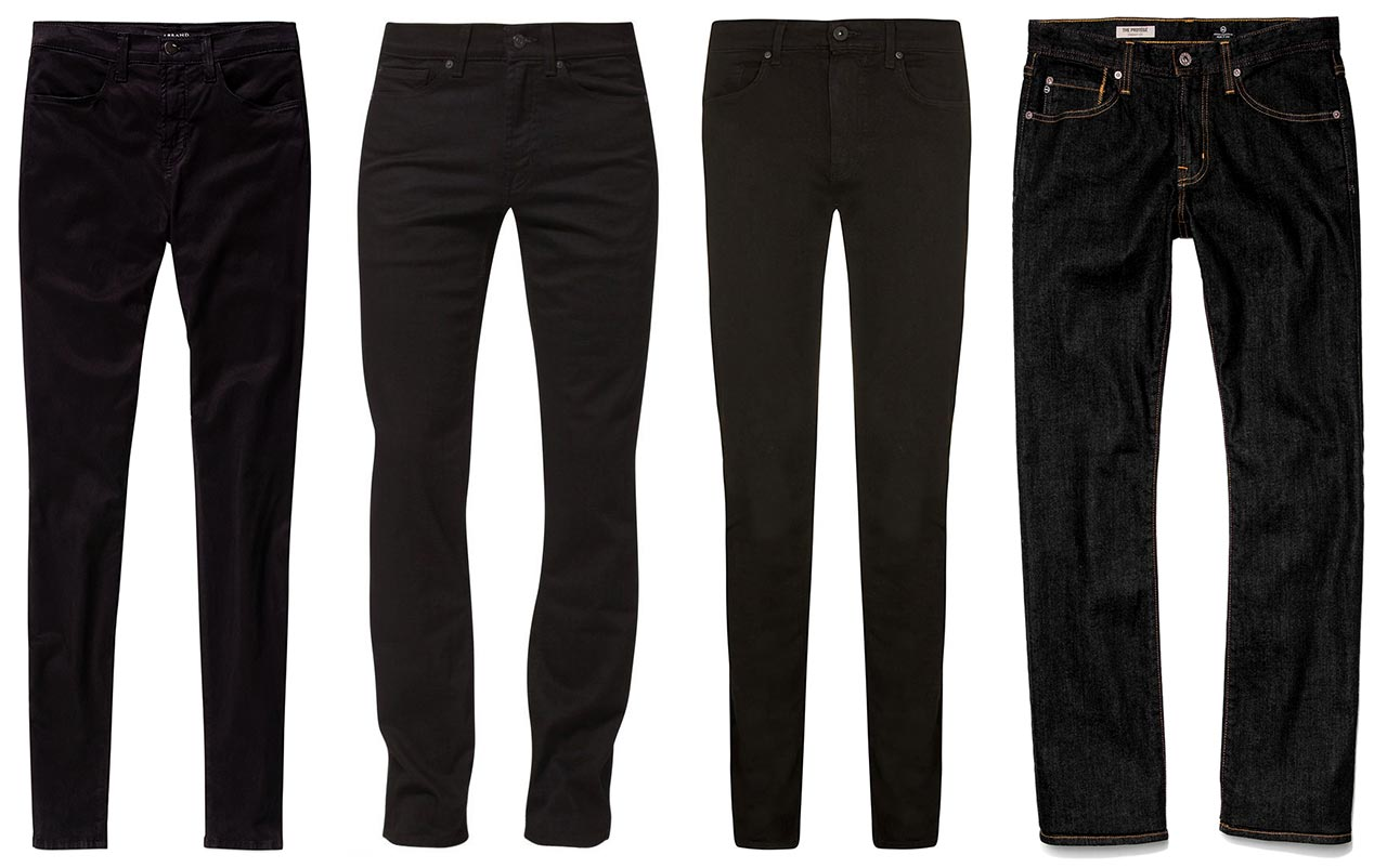 black-jeans-for-men-versatile-denim