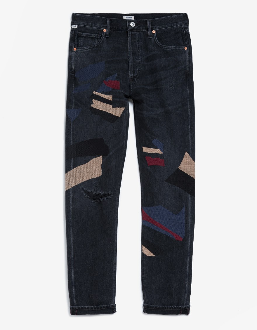 The Citizens of Humanity Liya Art House Embroidered Jeans
