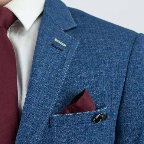 Cavani-Marina-Blue-Blazer-Chest-Detail-2222222