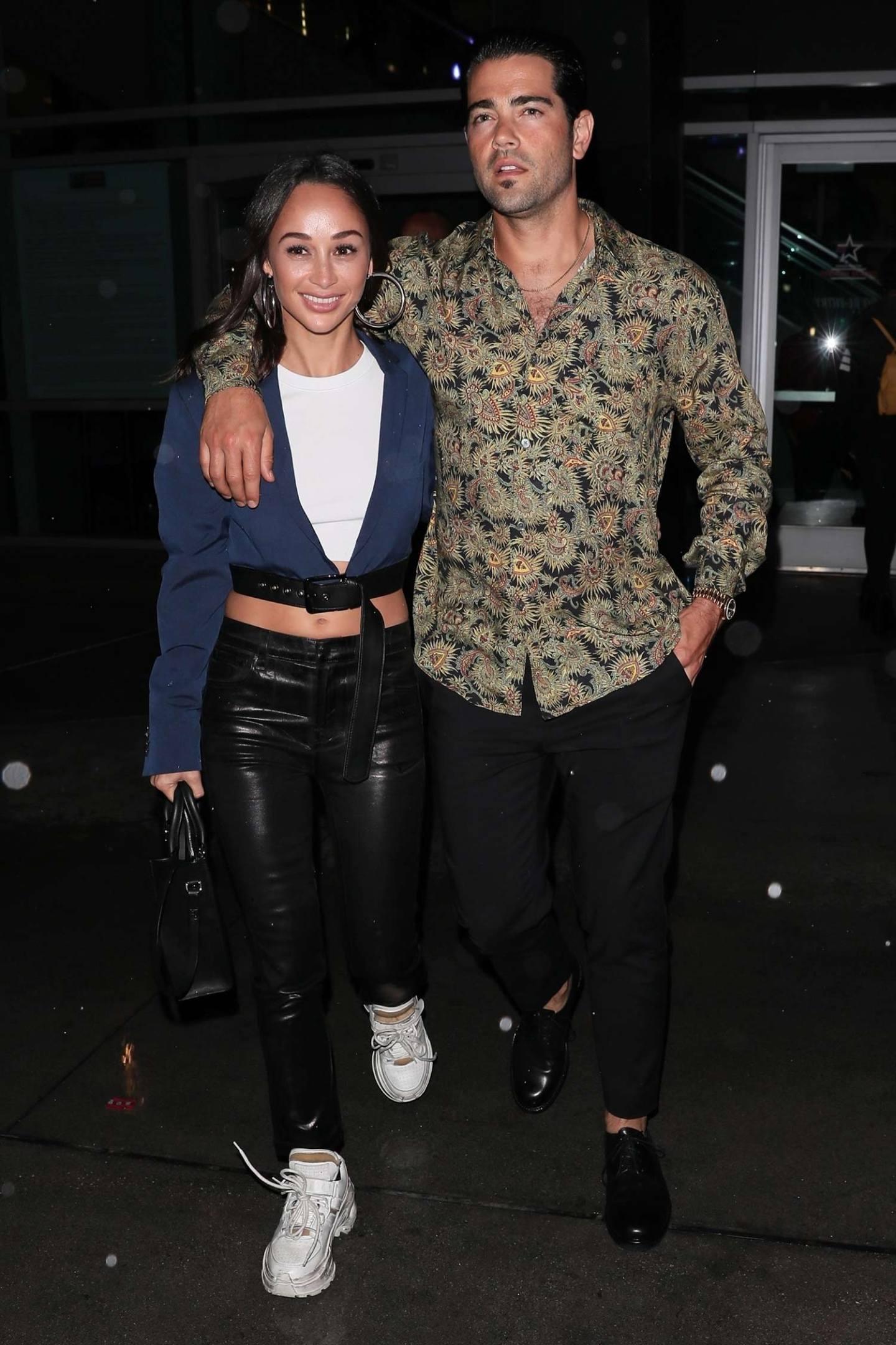 Cara Santana Wears J Brand Ruby High Rise Jeans
